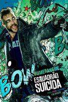 Imagem promocional do Capitão Bumerangue em 'Suicide Squad'