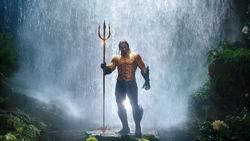 Aquaman na roupa clássica