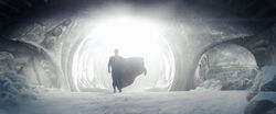 Superman com o traje