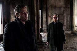 Alfred e Bruce na Mansão Wayne