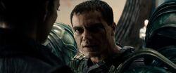 Zod sendo preso