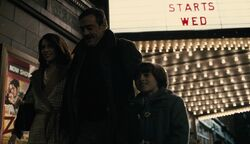 Bruce Wayne com seus pais