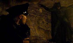 Batman assusta o policial novato