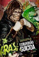 Imagem promocional do Crocodilo em 'Suicide Squad'