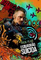 Imagem promocional do Rick Flag em 'Suicide Squad'