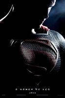 Pôster de 'Man of Steel' da Comic Con em português