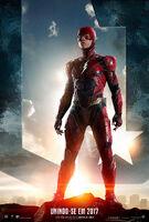 Promocional de Flash em 'Justice League'