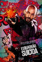 Imagem promocional do Pistoleiro em 'Suicide Squad'