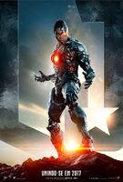 Promocional do Ciborgue em 'Justice League'