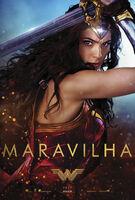 'Wonder Woman' pôster Maravilha