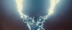 Ares sumonando raios