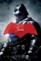 Promocional de Batman em 'BvS'
