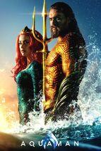 Aquaman pôster limpo alta resolução