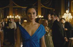 Diana durante a festa de Ludendorff