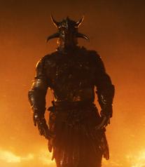 Ares em sua armadura