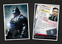 Perfil de Bruce Wayne na LexCorp