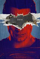 Superman promocional em 'BvS'