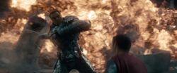 Superman contra o General Zod