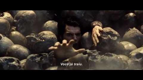 """O Homem de Aço - Trailer Oficial """"Destino do seu Planeta"""" (leg) HD"""