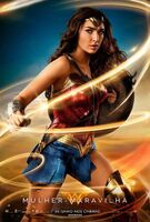 Cartaz do filme 'Wonder Woman'