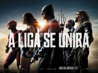 Pôster promocional de 'Justice League'