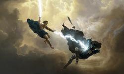 Zeus versus Ares