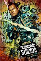 Imagem promocional do Amarra em 'Suicide Squad'