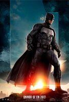 Promocional de Batman em 'Justice League'