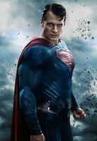 Imagem promo de Superman em 'BvS'