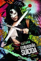 Imagem promocional da Katana em 'Suicide Squad'
