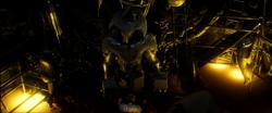 Lobo da Estepe diante de Lex Luthor