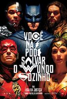Pôster de 'Justice League' em português