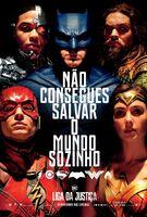 Cartaz de 'Justice League' em Portugal