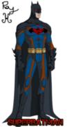 Kryptonian batman by rabidbat-d61s3x3