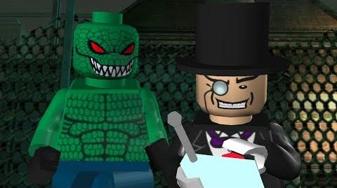 LEGO Batman The Videogame - All Bosses