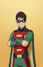 The first robin dick grayson commission by phil cho-d9fpa4y