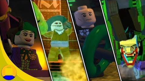 LEGO Batman 2 DC Superheroes - All Bosses
