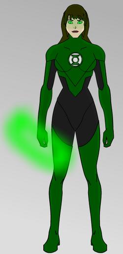 Patricia Jensen Green Lantern Concept 01