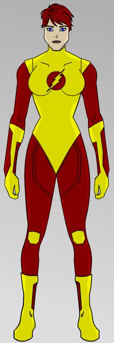 Jayne Wickes Flash Concept 01