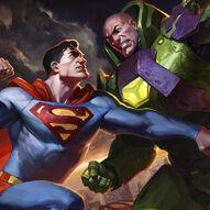 Quadro-lex-versus-superman