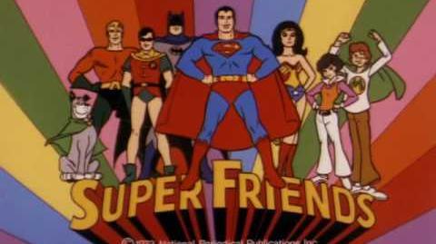 Super Friends Intro 1973-1