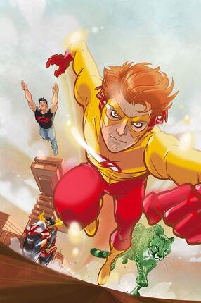 Kid flash and titans