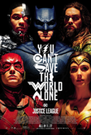 Justice League theatrical poster