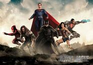 Justice League-team-poster banner