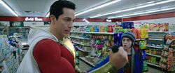 Shazam catches gun