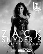 Wonder Woman Snyder Cut Poster