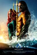 Aquaman poster - Home is Calling - Mera and Arthur