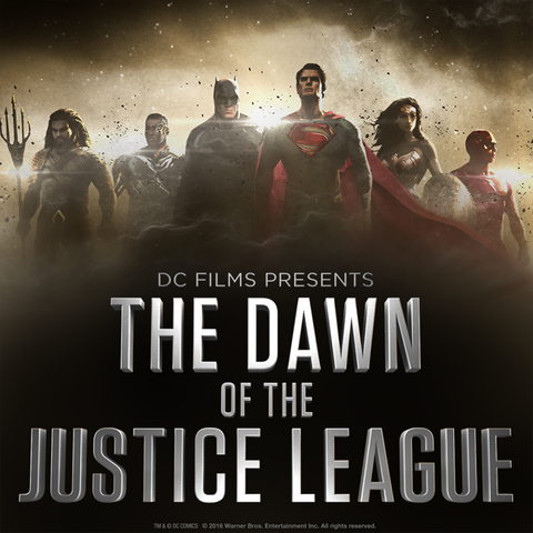 File:DC Films Presents The Dawn of the Justice League poster.png