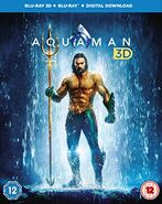 Aquaman DVD - Bluray 3D