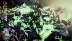 Green Lantern Corps members concept art